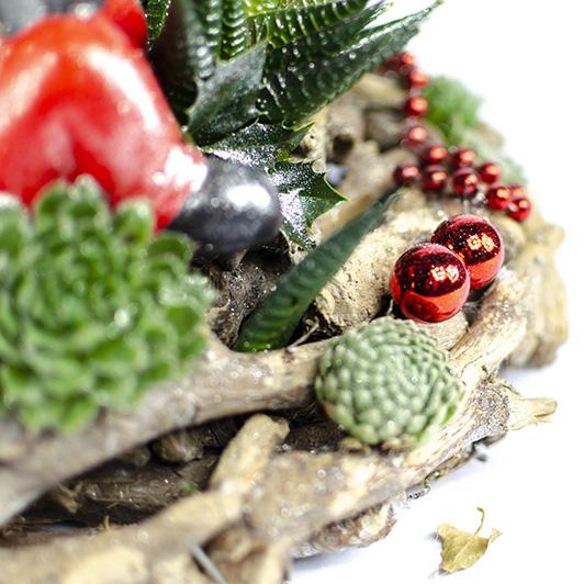 Kouzelný adventní svícen s vánočním skřítkem 2
