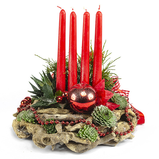 Kouzelný adventní svícen s vánočním skřítkem 3