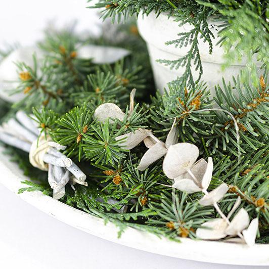 Decentní vintage vánoční/ štědrovečerní svícen 7