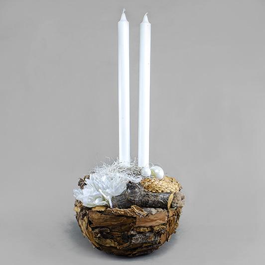 Exkluzivní dřevěný svícen 4