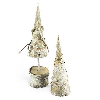 Dva stromečky severského stylu z březové kůry